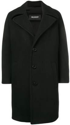 Neil Barrett oversized single-breasted coat