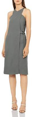 Reiss Beda Crossover Dress