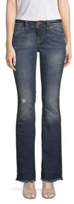 Miss Me Distressed Flared Jeans