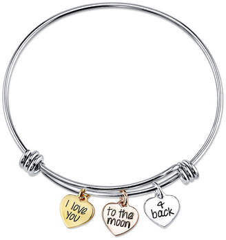 JCPenney FINE JEWELRY Inspired Moments Sterling Silver Expandable Bangle