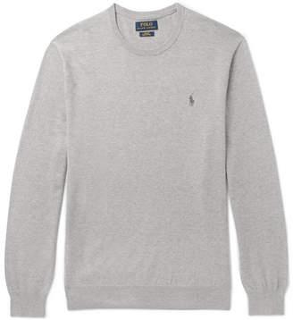 Polo Ralph Lauren Slim-Fit Pima Cotton Sweater