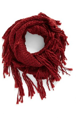 Women's Bp. Chunky Knit Fringe Scarf $29 thestylecure.com