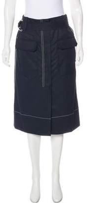 Elizabeth and James Knee-Length Cargo Skirt
