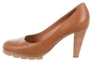 Walter Steiger Leather Round-Toe Pumps