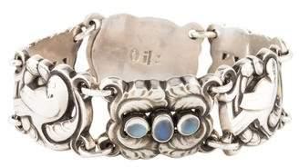 Georg Jensen Moonstone Moonlight Blossom Bracelet