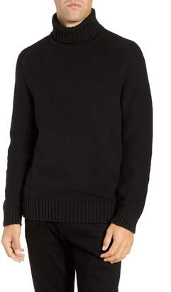 French Connection Chunky Regular Fit Cotton & Wool Blend Sweater