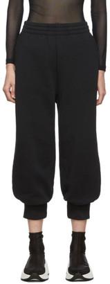 MM6 MAISON MARGIELA Black Cuffed Lounge Pants