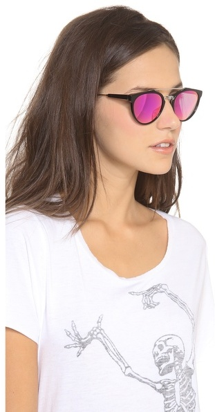 Super sunglasses Mirrored Cove Giaguaro Sunglasses
