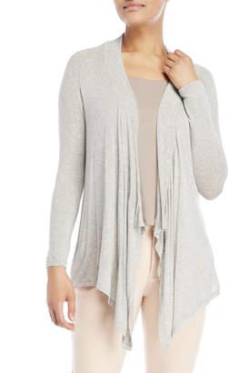 philosophy Petite Long Sleeve Open Jersey Cardigan