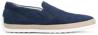 Tod's espadrille skate shoes