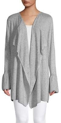 Style&Co. Style & Co. Draped Open-Front Cardigan