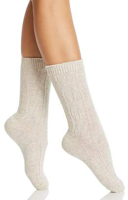 Hue Cable Boot Socks