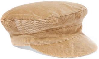 LACK OF COLOR Dunes Cotton-corduroy Cap - Beige
