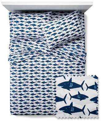 Pillowfort Great White Get-Together Sheet Set $17.99 thestylecure.com