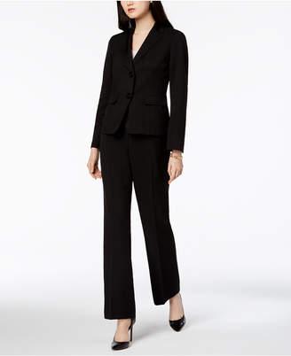 Le Suit Two-Button Pantsuit, Regular & Petite