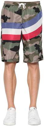 Moncler Camo Nylon Swim Shorts