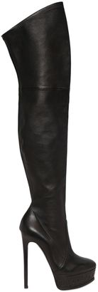 150mm Stretch Leather Boots $1,600 thestylecure.com
