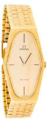 Omega De Ville Watch yellow De Ville Watch
