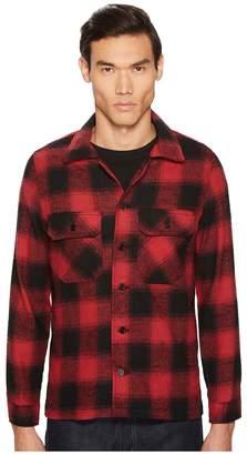 Naked & Famous Denim Nep Buffalo Check Work Shirt Jacket Men's Coat