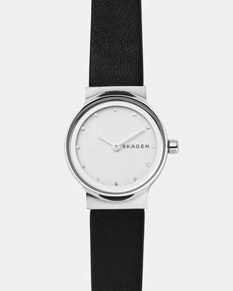 Skagen Freja Black Analogue Watch