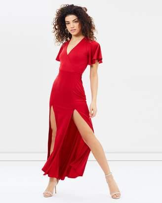 Jersey Prom Maxi Dress
