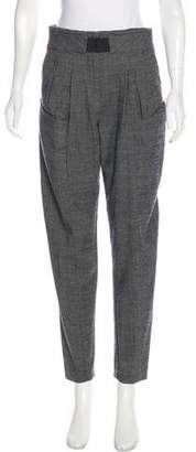Thakoon High-Rise Straight-Leg Pants