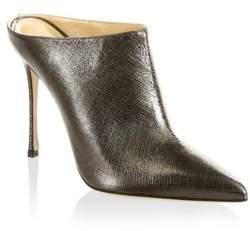 Sergio Rossi Godiva Point Toe Mules