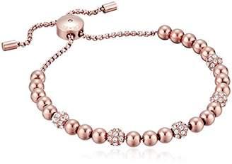 Michael Kors Blush Rush -Tone Bead Bangle Bracelet