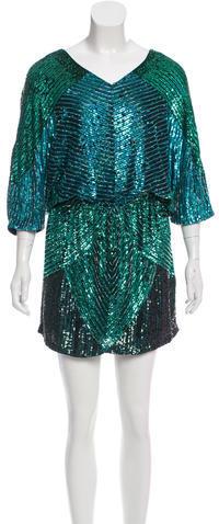 Haute HippieHaute Hippie Silk Sequined Dress w/ Tags