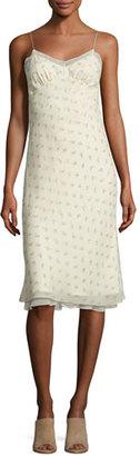 The Row Santi Floral-Print Silk Slip Dress