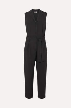 Brunello Cucinelli Bead-embellished Wool-blend Jumpsuit - Black