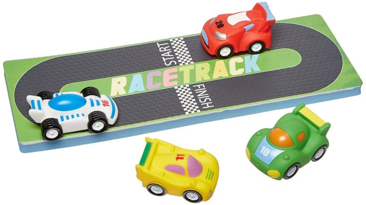 Tubby Table Tubby Buddy Little Racers Activity Mat and Cars Toy