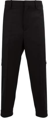 Neil Barrett zip pocket tapered trousers