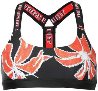 The Upside floral-print sports bra