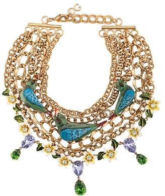Dolce & Gabbana birds necklace