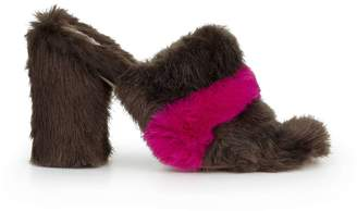 Sam Edelman Yael Faux Fur Block Heel Mule