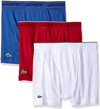 Lacoste Men's 3-Pack Essentials Cotton Boxer Brief