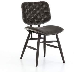 Pottery Barn Avant Velvet Tufted Dining Chair