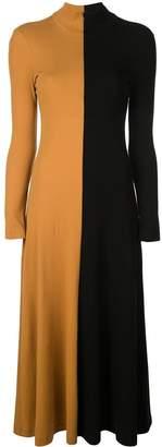 Rosetta Getty colour block knitted dress