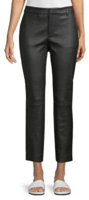 Vince Coin Pocket Leather Ankle Pants