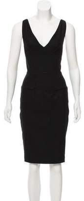 Roland Mouret Wool Sleeveless Dress