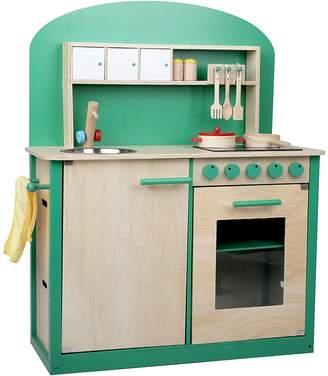 Big Fun Club Greenie Wooden Play Kitchen