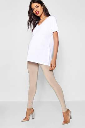boohoo Maternity Jo Slinky Over The Bump Skinny Legging