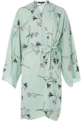 Dorothy Perkins Womens **Vera Moda Mint Wrap Kimono Dress