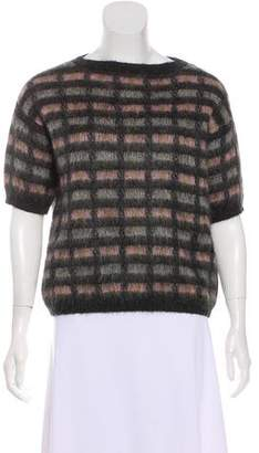 Prada Short Sleeve Knit Top