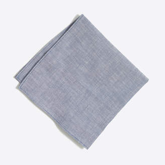 J.Crew Factory Chambray pocket square