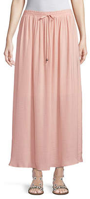 Style&Co. STYLE & CO. Petite Drawstring Maxi Skirt