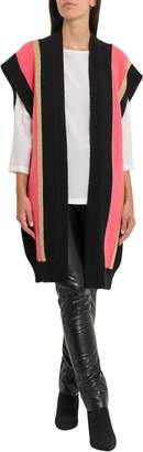 M Missoni Long Open Sleeveless Cardigan