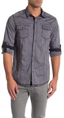 ProjekRaw Projek Raw Yarn Dye Long Sleeve Shirt