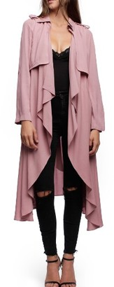 Women's Line & Dot Robaina Trench Coat $147 thestylecure.com